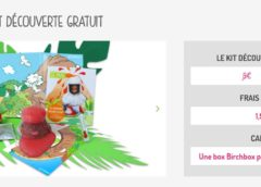 1,90€ le kit créatif enfant Pandacraft port inclus + 1 Birchbox gratuite (sans engagement)