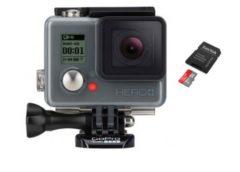 FLASH : moins de 120€ la caméra Gopro HERO+ (8 mpix, caisson étanche) 📷 + Sandisk ultramicro SD 16Go port inclus