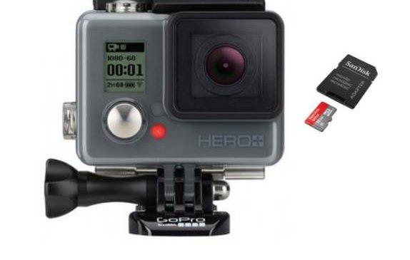 moins de 120€ la caméra Gopro HERO+