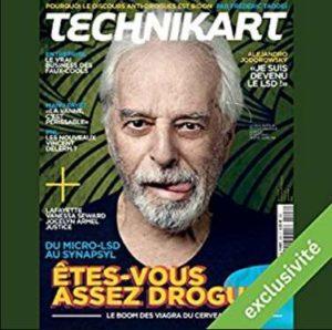 numéro du magazine Technikart gratuit sur Audible