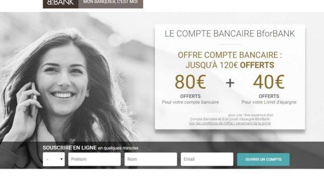 offre d'ouverture de compte BforBank
