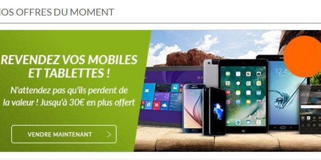 rachat de smartphone et tablette