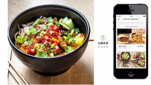 remise sur les commandes sur UberEATS