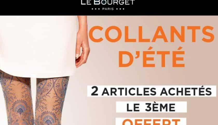 2 collants été Le Bourget achetés = le 3ème gratuit