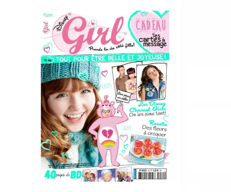 abonnement disney girl magazine pas cher 24 9 au lieu. Black Bedroom Furniture Sets. Home Design Ideas