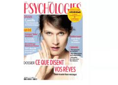 Abonnement Psychologies Magazine pas cher : 14€ au lieu de 44€ (11 numéros)