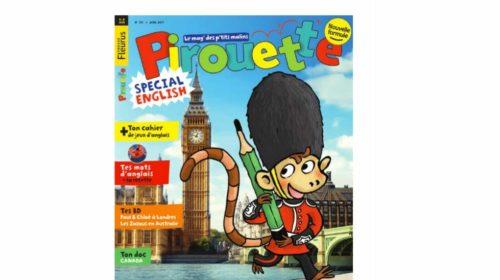 Abonnement à Pirouette magazine pas cher