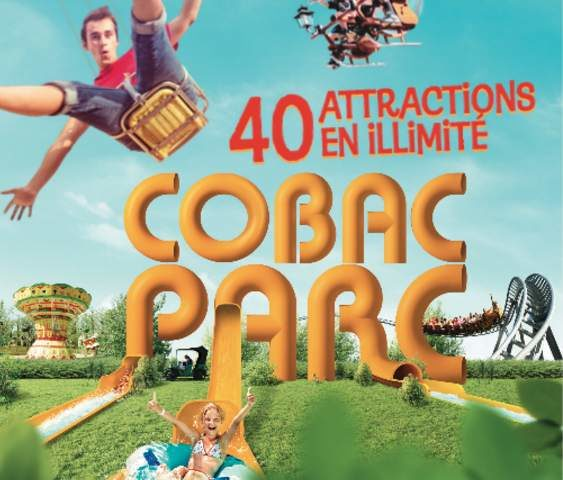 Billet d'entrée Cobac Parc gratuit pour les enfants