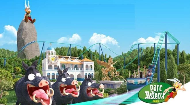 Billet tarif réduits pour le Parc Astérix