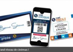 Billets CinéChèque pas chers : 2 séances pour 11,7€, 4 pour 23,4€ ou 10 pour 58,5€