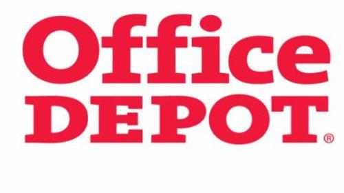 Bon d'achat Office Dépôt moitié prix
