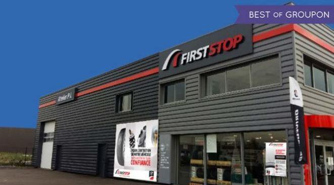 Bon d'achat centre auto First Stop moitié prix