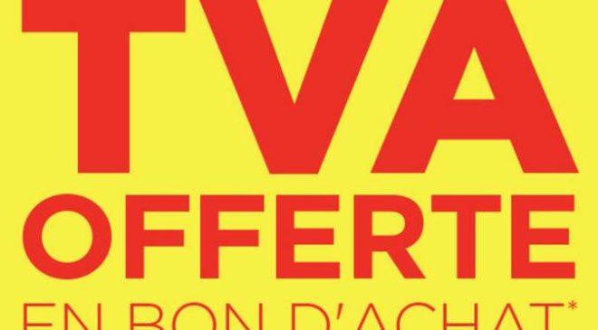 Bricorama rembourse la TVA