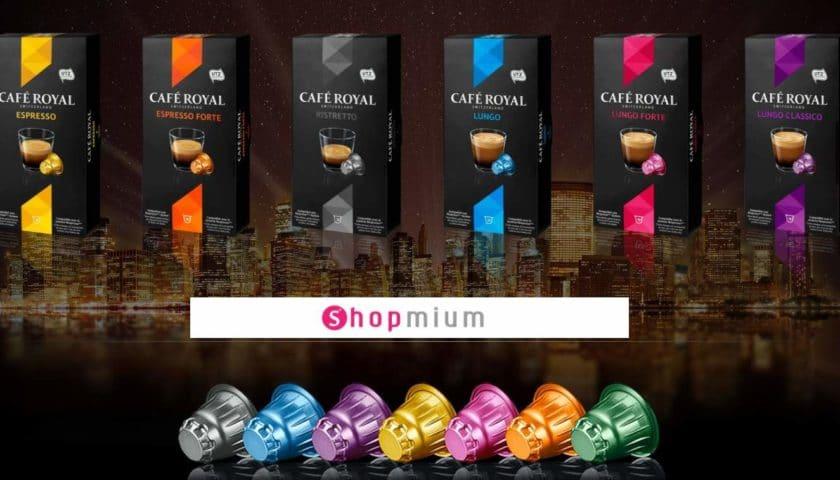 Capsules Cafe Royal moins cheres Shopmium