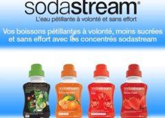 Coupon de réduction Sodastream à imprimer valable sur toute l'ensemble de la gamme des concentrés