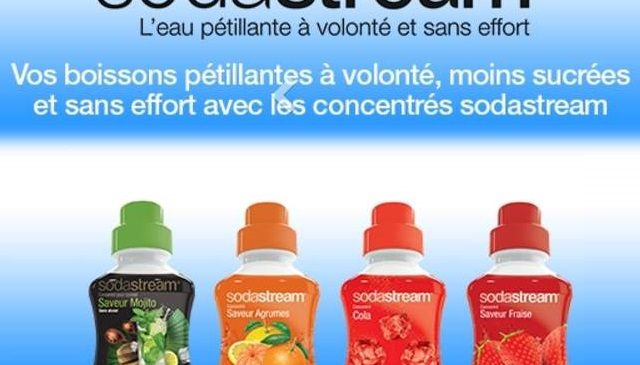 Coupon de reduction Sodastream a imprimer
