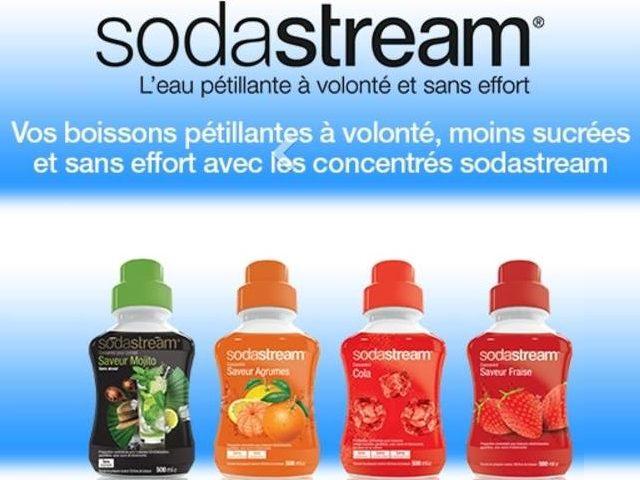 Coupon de reduction Sodastream a imprimer
