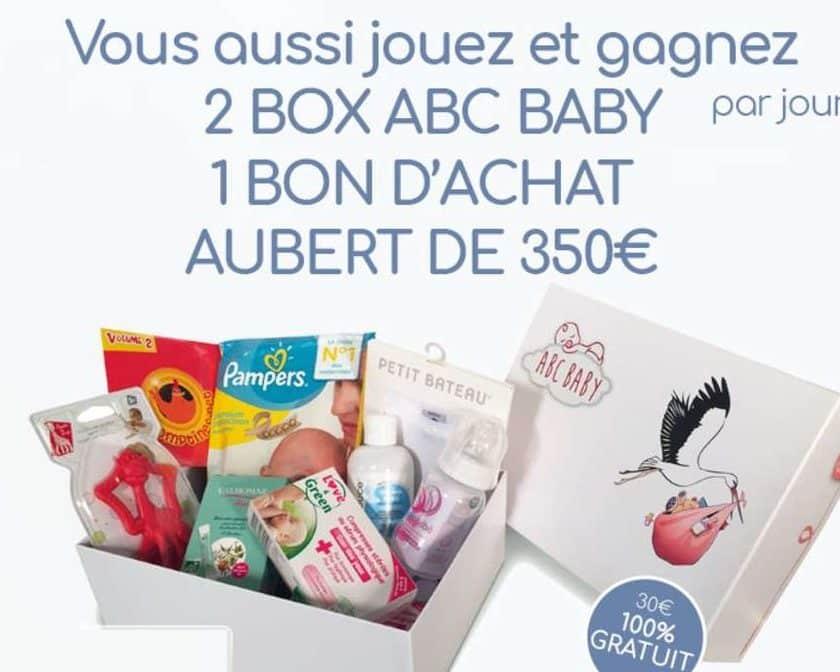 Gagnez une Box ABC BABY