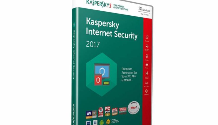 Internet Security 2017 Kaspersky pas cher