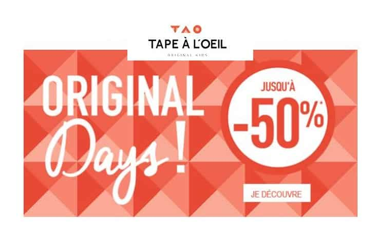Original Days Tape à l'œil