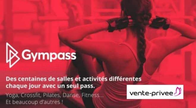 Pass Gympass valable dans 1500 salles de sport pas cher