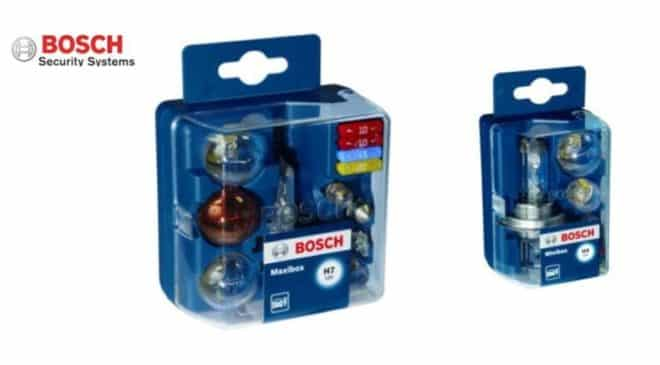Promo coffret d'ampoules voiture Bosch