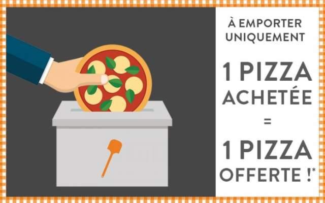 Spécial élection Tablapizza ! 1 pizza à emporter gratuite