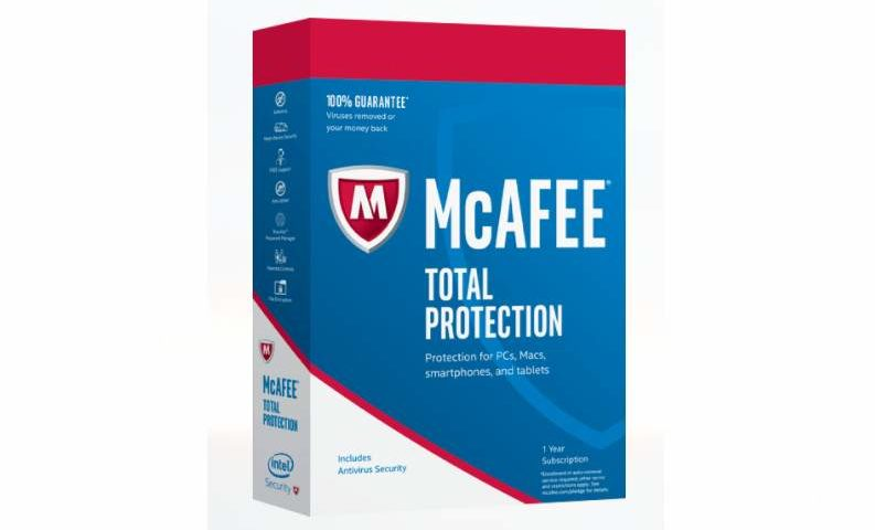 Total Protection McAfee 2017 10 appareils
