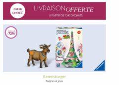 Vente privée Ravensburger : puzzles & loisir créatif jusqu'à -70% + livraison gratuite dès 10€