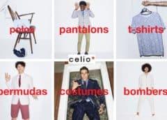 Week-end de promotions sur Celio + livraison gratuite sans mini