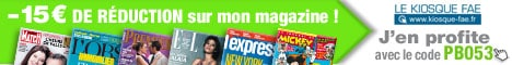 Abonnement magazine 15 euros offerts sans minimum