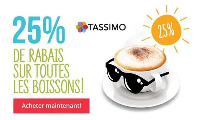 odr 2014 cafeti re dosette tassimo bosch a 26 euros apr s odr de 30 euros. Black Bedroom Furniture Sets. Home Design Ideas
