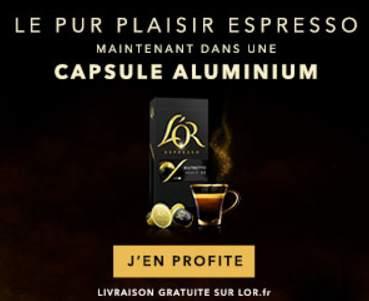 code promo capsules L'OR
