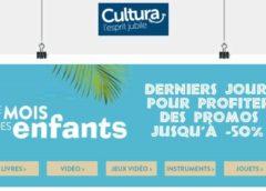 Jouets & activités créatives jusqu'à -50% pendant le mois des enfants Cultura
