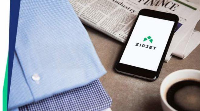 pressing livré à domicile avec Zipjet