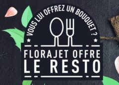 Fête des mères : 1 bouquet offert 🌹 = 1 restaurant offert 🍴 avec Florajet