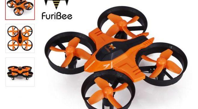 10,2€ seulement le mini-drone FuriBee F36