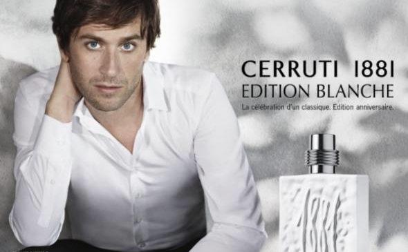 25,15€ l'eau de toilette Cerruti 1881 Edition Blanche Homme 100ml