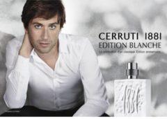 25,15€ l'eau de toilette Cerruti 1881 Edition Blanche Homme 100ml port inclus (au lieu de 76€)