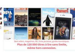 29€ pour 1 an d'abonnement ebook illimité sur tablette, smartphone… (17€ 6 mois) au lieu de plus du double