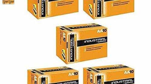 50 piles Duracell Industrial pour 20€ port inclus