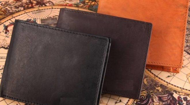 9,90€ le portefeuille 100% cuir