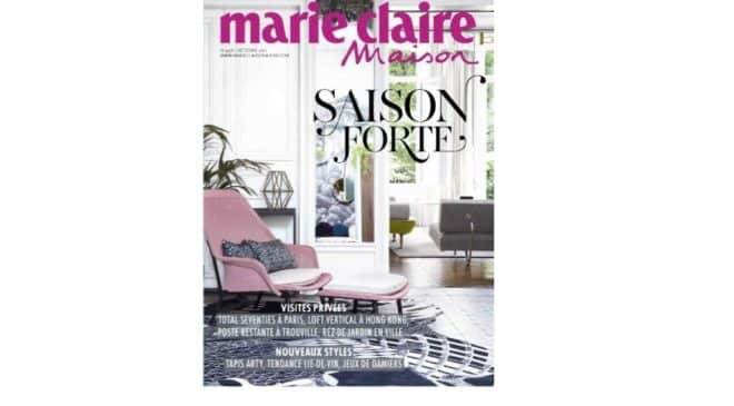 Abonnement Marie Claire Maison pas cher : 11€ seulement l'année (au lieu de 39€)
