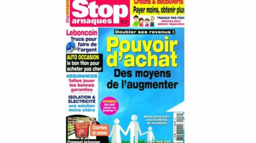 Abonnement magazine Stop Arnaques pas cher