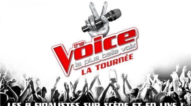 Billet The Voice La tournée pas cher