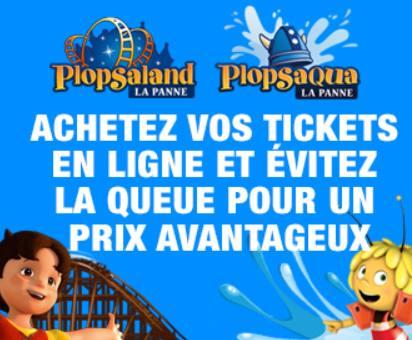 Billet d'entrée Plopsaland gratuit pour les mamans