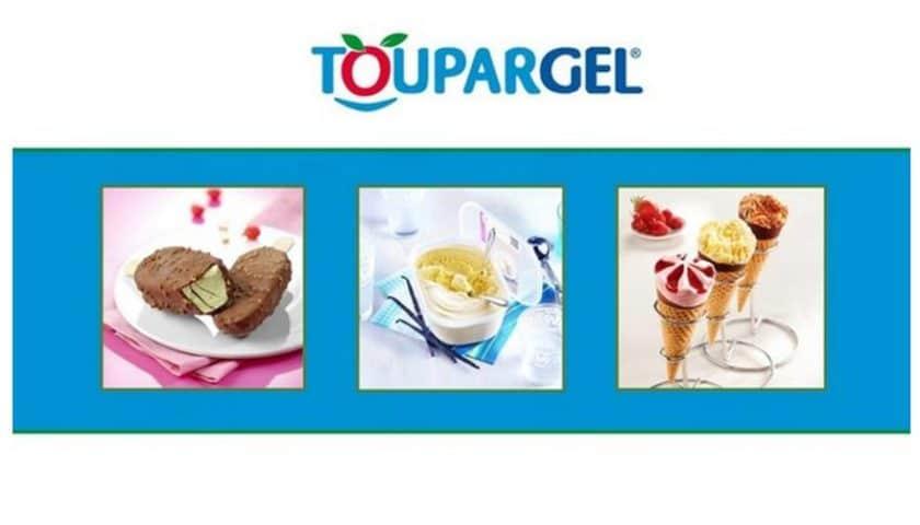 Bon d'achat Toupargel sur les glaces et desserts glacés