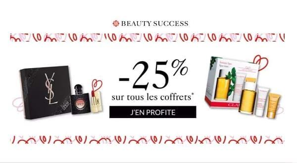 Bon Plan Fête Des Mères 25% Sur Tous Les Coffrets Chez Beauty Success