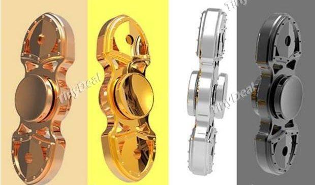 Hand Spinner métal 2 branches à 2,50€ port inclus