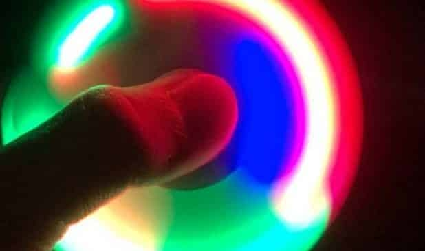 Hand Spinners LED pas chers